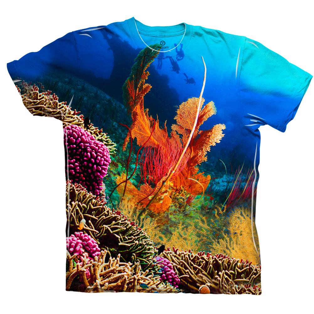 Yizzam Coral Reef 001 New Men Unisex Tee Shirt Xs S M L