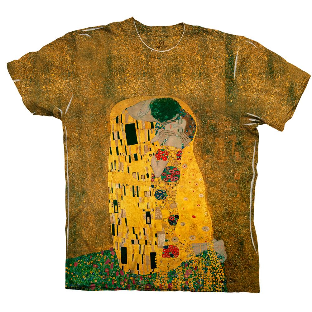 """Yizzam - Klimt - """"The Kiss""""-  New Men Unisex Tee Shirt"""