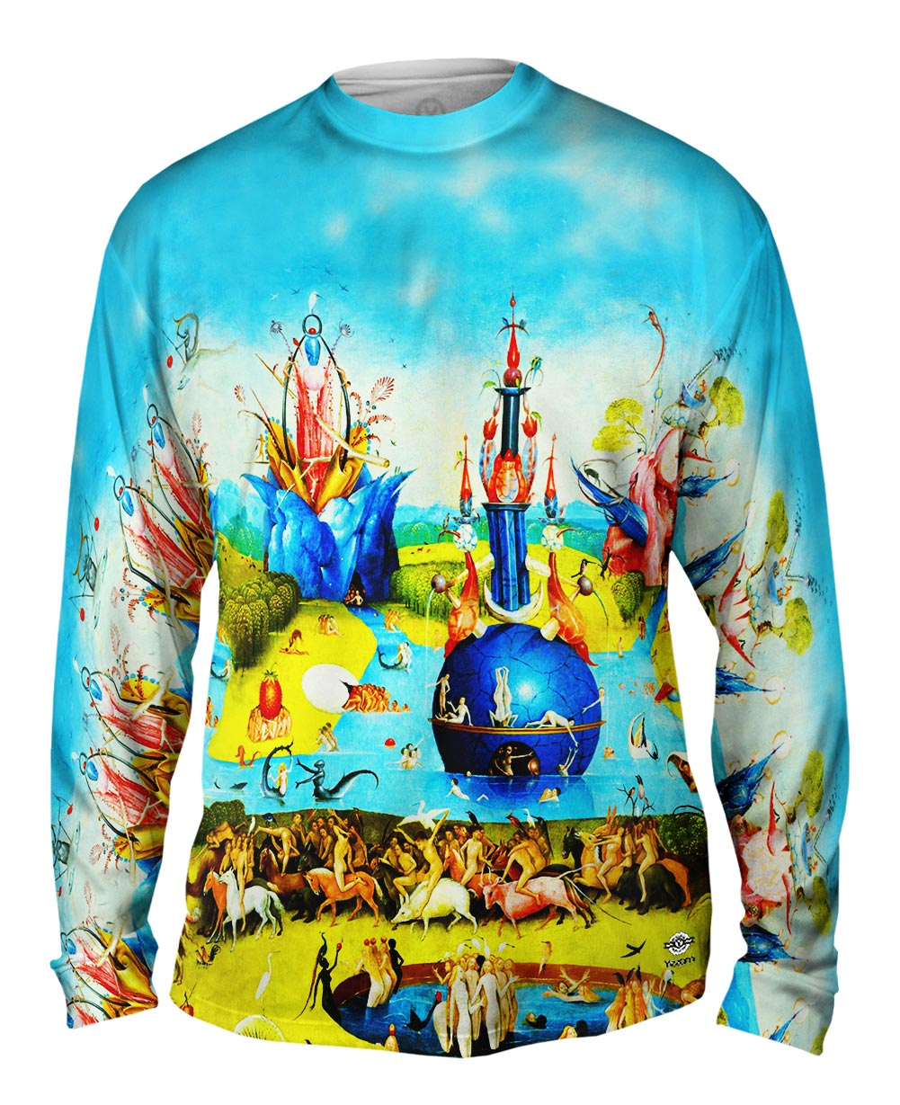 Yizzam Hieronymus Bosch The Garden Of Earthly Delights 01 Mens Long Sleeve