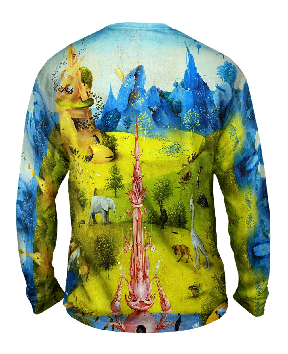 Yizzam Hieronymus Bosch The Garden Of Earthly Delights 03 Mens Long Sleeve