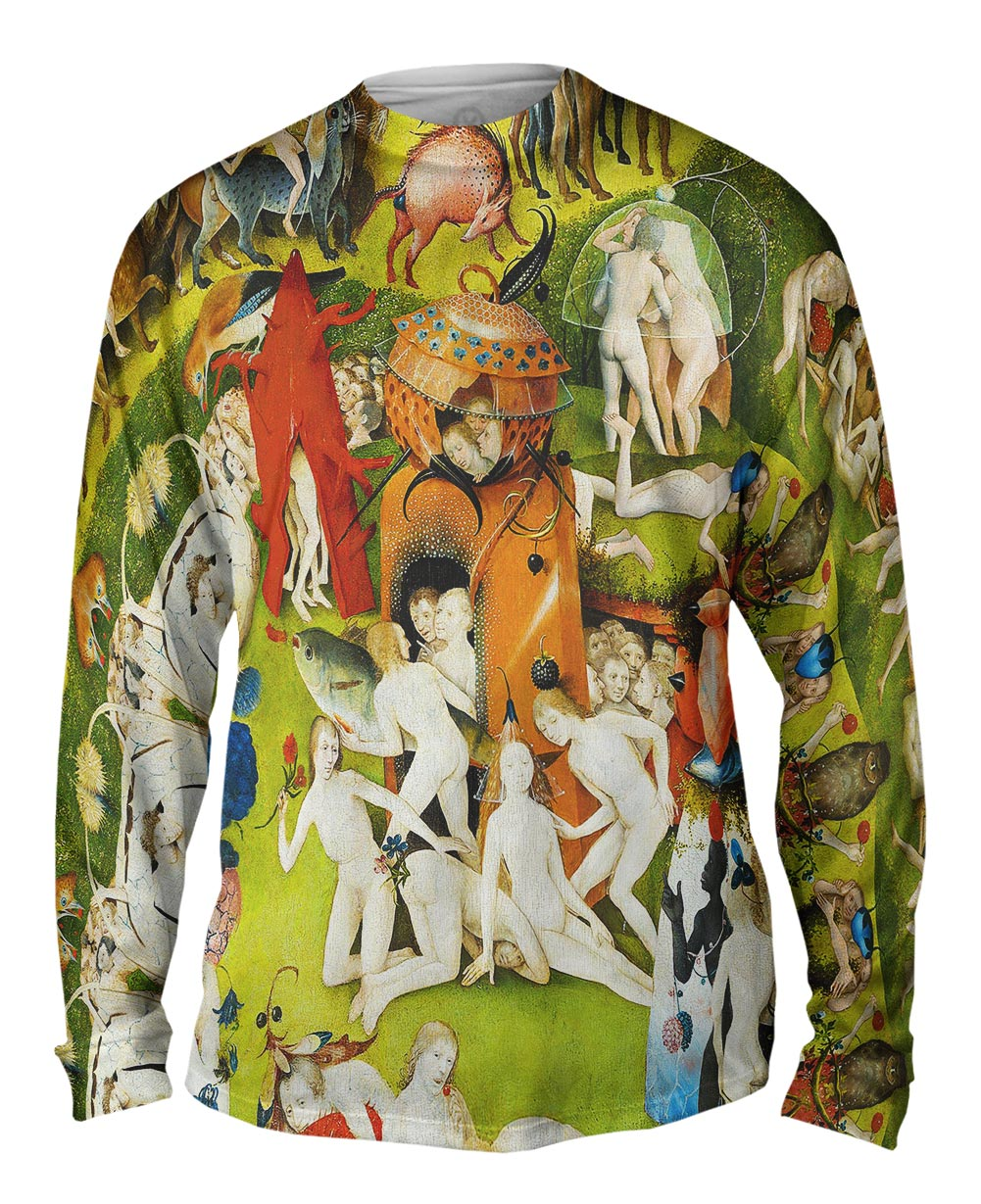 Yizzam Hieronymus Bosch The Garden Of Earthly Delights 05 Mens Long Sleeve