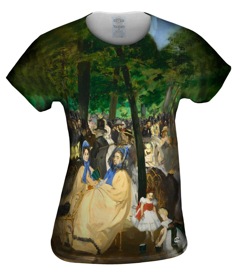 "Edouard Manet -""Musica en las Tullerias"" (1862)"