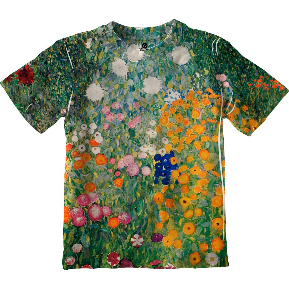 -TShirt 1907 Yizzam Watersnakes Gustav Klimt Mens Long Sleeve