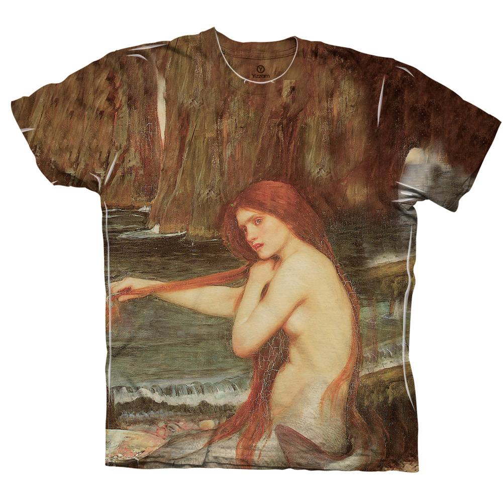 "Yizzam -John William Waterhouse - ""A Mermaid"" (1901 ...