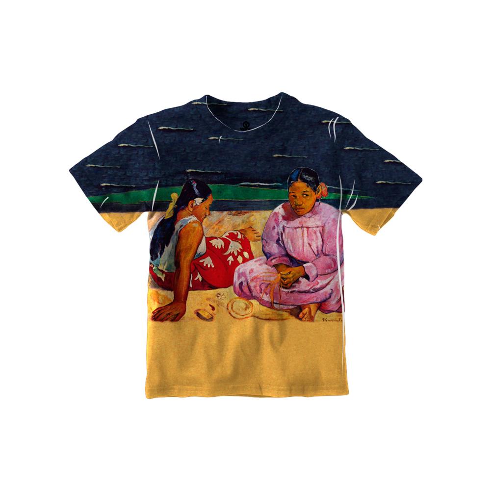 "Paul Gauguin - ""Tahitian Women on the Beach"" (1891)"