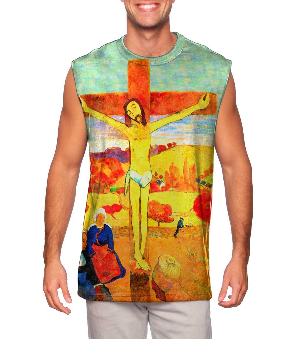 "Paul Gauguin - ""The Yellow Christ"" (1889)"