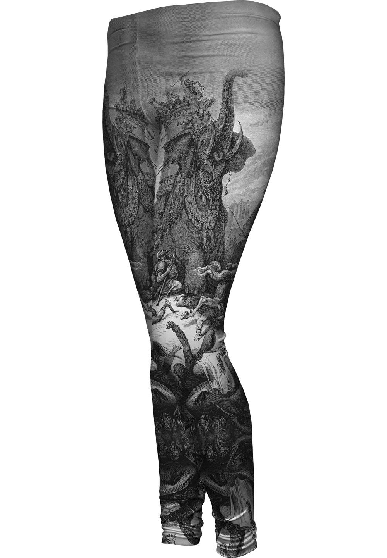 "Yizzam - Dore - ""Death Of Eleazer""- New Ladies Womens Leggings"