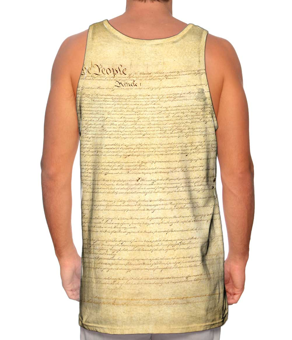Yizzam us constitution new men tank top tee shirt xs s for Best website to sell t shirts