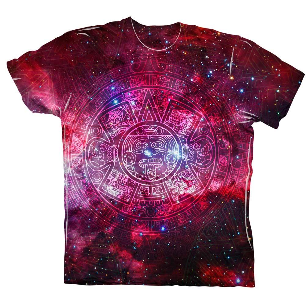 Yizzam- Pink Galaxy Aztec Cluster - New Men Unisex Tee Shirt XS ...