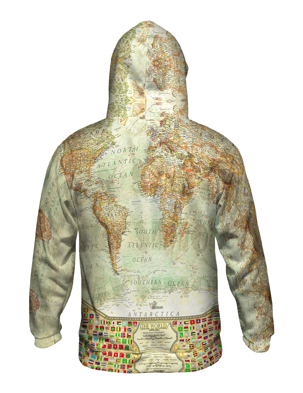 Yizzam ash world map new mens hoodie sweater xs s m l xl 2xl yizzam ash world map new mens hoodie sweater gumiabroncs Choice Image