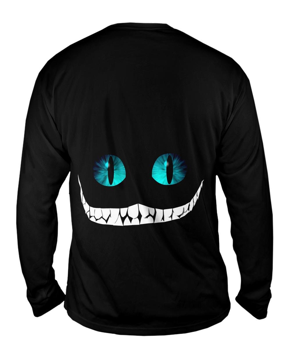 Yizzam Cheshire Cat New Mens Long Sleeve Tee Shirt Xs S