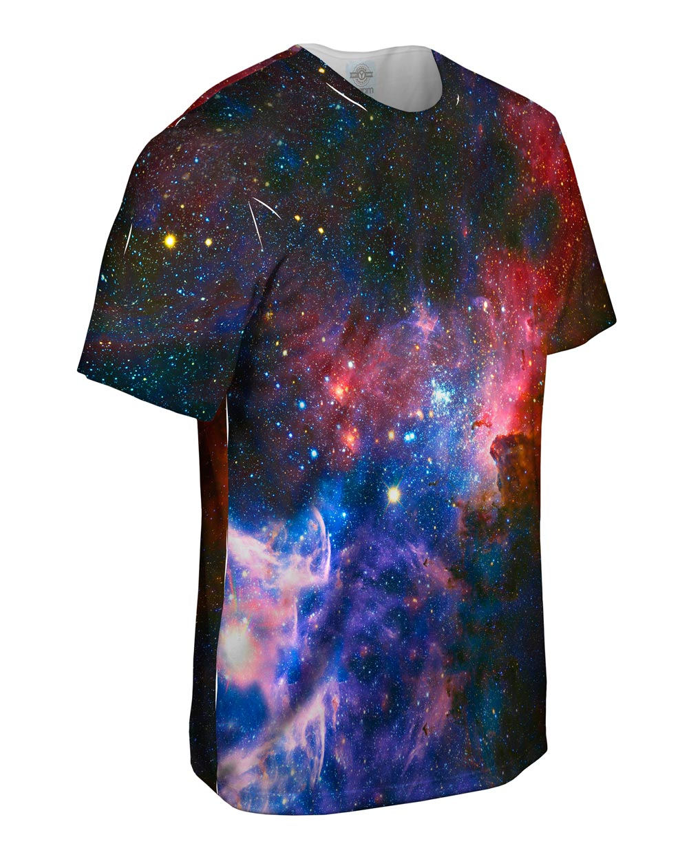 Yizzam- Carina Nebula Space Galaxy - New Men Unisex Tee ...