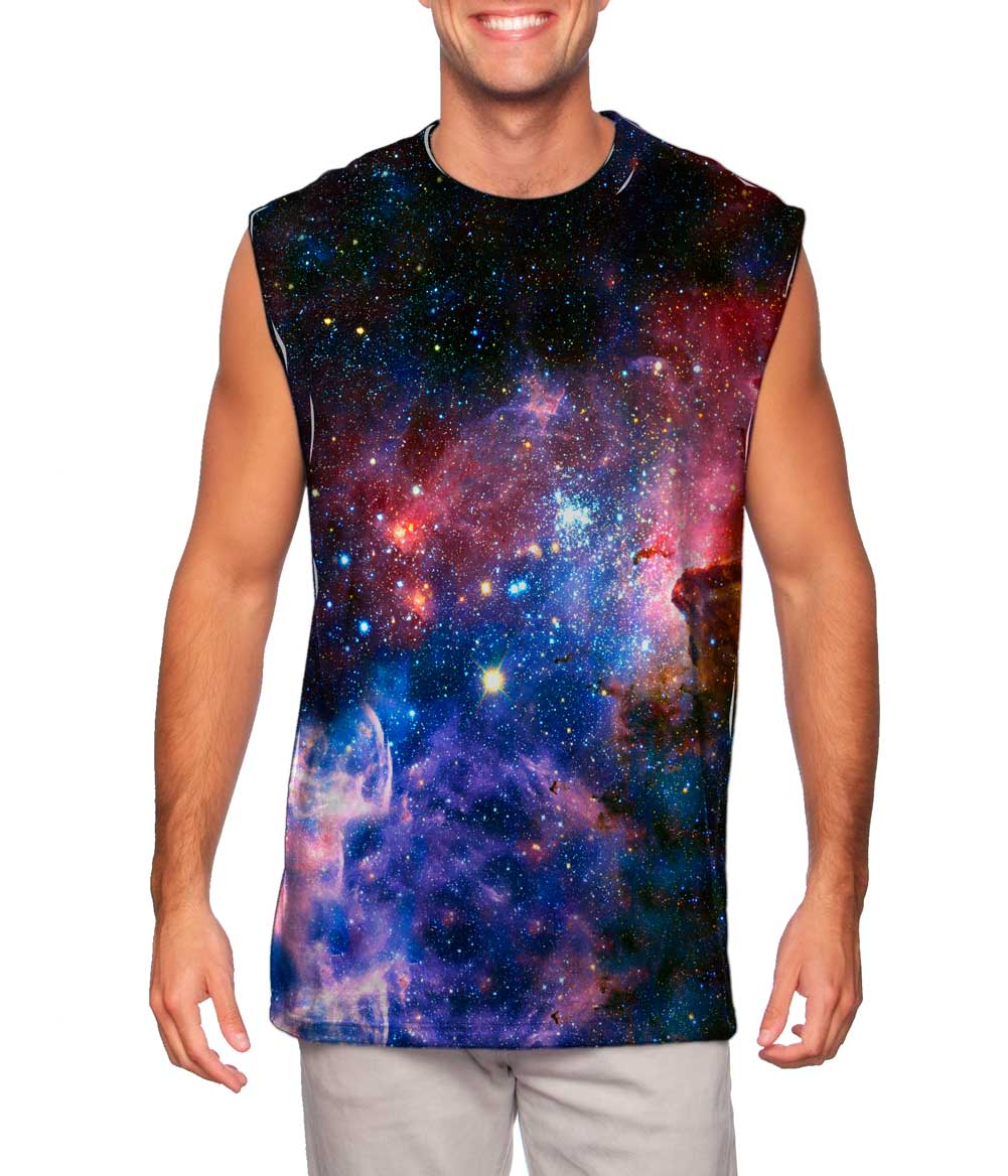 Space Galaxy Shirts for Men's - Pics about space