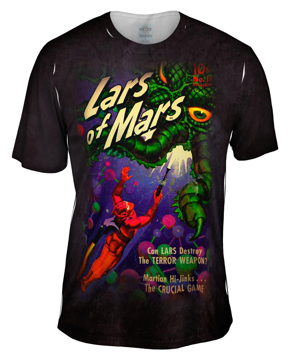 Lars of Mars Comic Retro